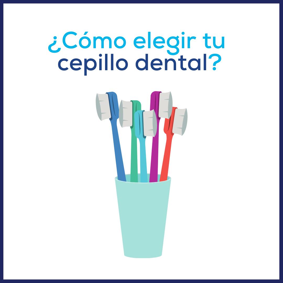 ¿Cómo elegir tu cepillo dental?