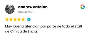 resena andrew catalan paciente